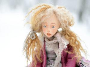 Зимняя сказка Мишель. Ярмарка Мастеров - ручная работа, handmade.