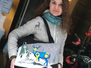 Еще одна модная идея: сумка в зимнем стиле. Ярмарка Мастеров - ручная работа, handmade.