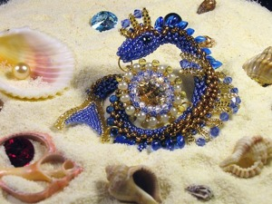 Мастер-класс: плетём морского дракончика. Ярмарка Мастеров - ручная работа, handmade.