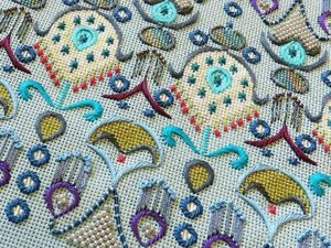 The Splendor of Embroideries by Orna Willis. Livemaster - hecho a mano - handmade.