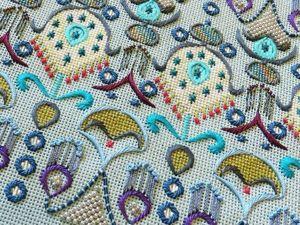 The Splendor of Embroideries by Orna Willis. Livemaster - handmade