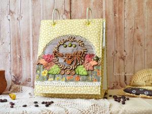 Делаем красивую и полезную помощницу на кухне — кулинарную книгу «Осенняя». Ярмарка Мастеров - ручная работа, handmade.