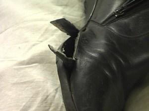 Внутренняя заплатка на обуви (видео). Ярмарка Мастеров - ручная работа, handmade.
