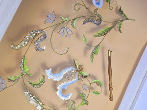 Образец вышивки. Ярмарка Мастеров - ручная работа, handmade.