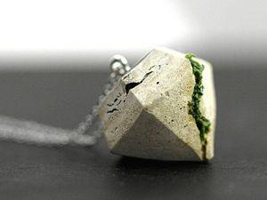 Необычный тренд: оригинальные украшения из бетона. Ярмарка Мастеров - ручная работа, handmade.