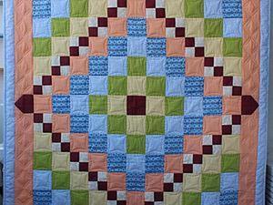 Шьем детское лоскутное одеяло в технике барджелло. Часть первая. Ярмарка Мастеров - ручная работа, handmade.
