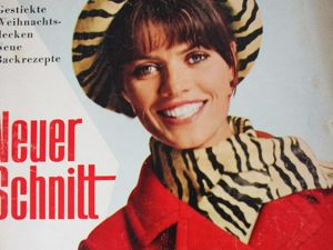 Neuer Schnitt — старый немецкий журнал мод 11/1965. Ярмарка Мастеров - ручная работа, handmade.