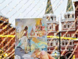 Интересная история одной картины. Ярмарка Мастеров - ручная работа, handmade.