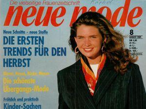 Neue mode 8 1989 (август). Ярмарка Мастеров - ручная работа, handmade.