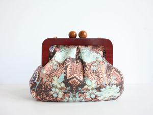 Шьем объемную сумку с деревянным фермуаром. Ярмарка Мастеров - ручная работа, handmade.