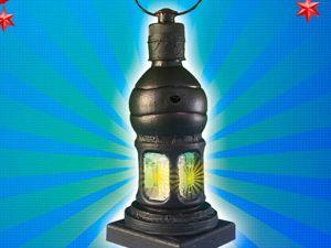 Рождественский фонарь из пластиковых бутылок! Идея декора на Новый год!. Ярмарка Мастеров - ручная работа, handmade.