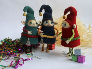 Новогодний эльфик. Ярмарка Мастеров - ручная работа, handmade.