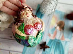Русалочки для вашей новогодней елки!. Ярмарка Мастеров - ручная работа, handmade.