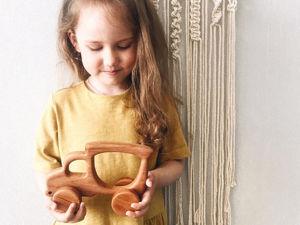 Уход за деревянными игрушками. Ярмарка Мастеров - ручная работа, handmade.