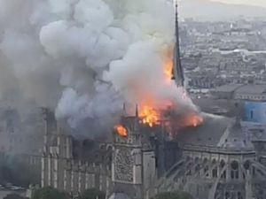 Notre Dame de Paris в огне. Ярмарка Мастеров - ручная работа, handmade.
