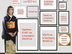 Создаем схему соотношения размеров картин в Фотошопе. Ярмарка Мастеров - ручная работа, handmade.