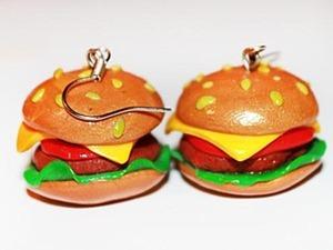 Гамбургер с хрустящей корочкой). Ярмарка Мастеров - ручная работа, handmade.