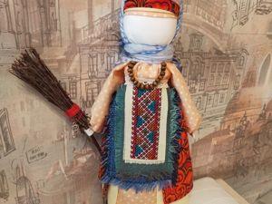 Обережная кукла Метлушка. Ярмарка Мастеров - ручная работа, handmade.