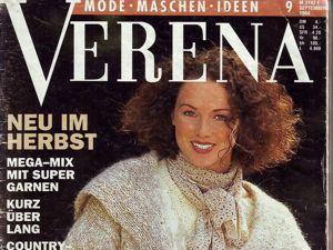 Verena № 9/1994. Содержание. Ярмарка Мастеров - ручная работа, handmade.