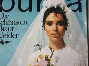 Бурда — спец. выпуск — свадебные платья  1969. Ярмарка Мастеров - ручная работа, handmade.