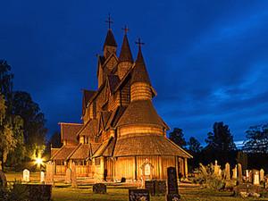 Сказочные деревянные церкви Норвегии. Ярмарка Мастеров - ручная работа, handmade.