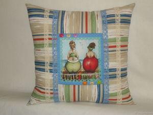 Что общего между ужином, коллекцией и подушкой?. Ярмарка Мастеров - ручная работа, handmade.