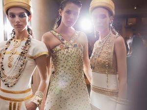 Chanel привез Египет в Сеул: Топ-17 нарядов показа Metiers d'Art 2018/19. Ярмарка Мастеров - ручная работа, handmade.