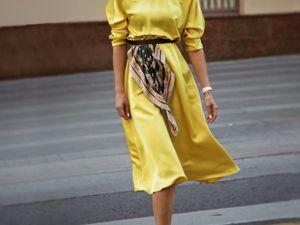 Модный тренд: ремень-платок или пояс с платком. Ярмарка Мастеров - ручная работа, handmade.