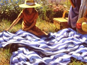 Сезон пикников объявляется открытым! Отдых на свежем воздухе в картинах великих художников. Ярмарка Мастеров - ручная работа, handmade.