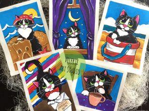 Аукцион на серию с котиком Барсик!. Ярмарка Мастеров - ручная работа, handmade.