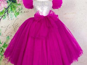 Скидка на нарядные платья для девочки. Ярмарка Мастеров - ручная работа, handmade.
