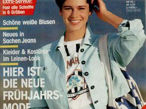 Neue mode 3 1988 (март). Ярмарка Мастеров - ручная работа, handmade.