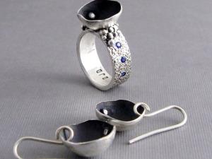 Делаем серебряное кольцо с куполом и фианитами из серебряной глины с нуля. Ярмарка Мастеров - ручная работа, handmade.