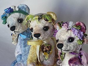 Особенности конструирования головы медведя-тедди. Ярмарка Мастеров - ручная работа, handmade.