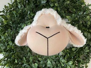 Шьем текстильную овечку. Урок 3. Ярмарка Мастеров - ручная работа, handmade.