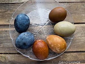 Дары весеннего кролика, или Как покрасить куриные яйца к Пасхе природными красителями. Ярмарка Мастеров - ручная работа, handmade.
