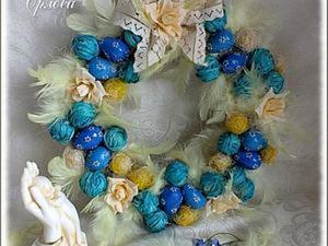 Создаем Пасхальный венок - интерьерное украшение. Ярмарка Мастеров - ручная работа, handmade.