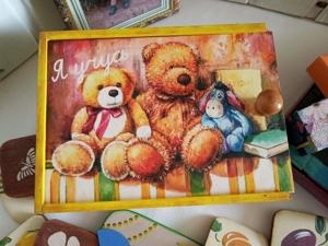 Детский набор: кубики, деревянные пазлы, лотошки Съедобное — несъедобное. Ярмарка Мастеров - ручная работа, handmade.