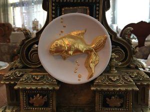 Производим золочение «Золотой рыбки». Ярмарка Мастеров - ручная работа, handmade.
