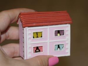 Видео мастер-класс: кукольный домик в миниатюре. Часть 1. Ярмарка Мастеров - ручная работа, handmade.