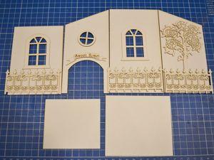 Мастерим чайный домик из пивного (переплетного) картона. Ярмарка Мастеров - ручная работа, handmade.