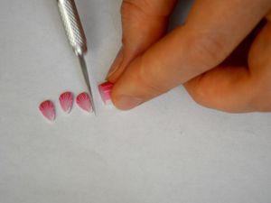 Сборка цветка из полимерной глины. Ярмарка Мастеров - ручная работа, handmade.