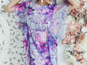 «Последний размер платья Сердце сиреневое». Ярмарка Мастеров - ручная работа, handmade.