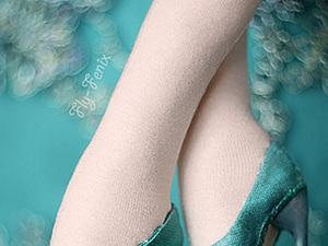 Туфли на каблуке для текстильной куклы. Способ без колодки.. Ярмарка Мастеров - ручная работа, handmade.