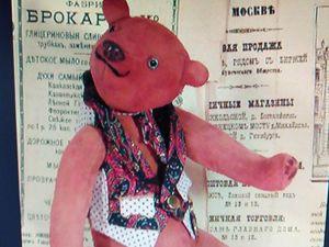 Замшевые мишки — тедди. Ярмарка Мастеров - ручная работа, handmade.
