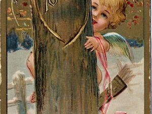 День всех влюбленных: как выглядели первые валентинки. Ярмарка Мастеров - ручная работа, handmade.