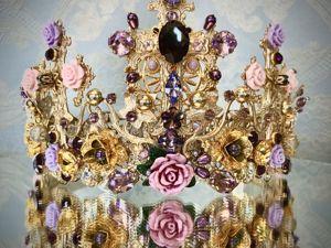 Корона «Розы». Ярмарка Мастеров - ручная работа, handmade.