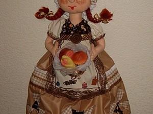 Шьем куклу-пакетницу. Ярмарка Мастеров - ручная работа, handmade.
