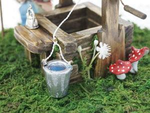 Мастерим миниатюрный кукольный колодец. Ярмарка Мастеров - ручная работа, handmade.
