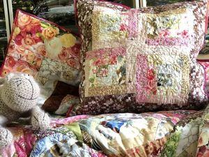 Шьем лоскутную подушку. Ярмарка Мастеров - ручная работа, handmade.